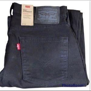 28 32 x/ Levi's 514 Black Denim Jeans Men's
